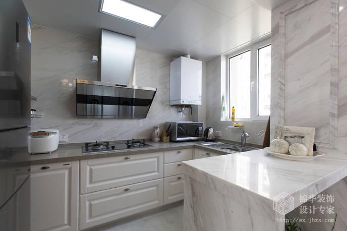 混搭风格-绿地世纪城-两室两厅-115平-厨房-装修效果实景图