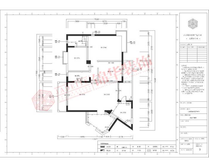 太湖国际三室两厅两卫美式风格实景图装修-三室两厅-美式田园