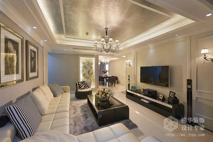 西水东194平四室两厅两卫现代简约风格实景图