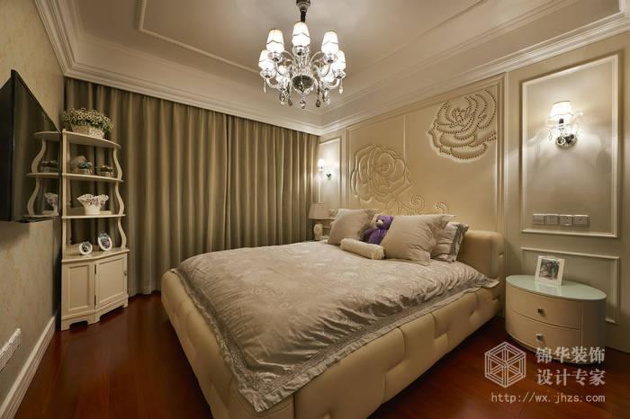 现代简约-西水东-四室两厅-194平-卧室-装修效果实景图