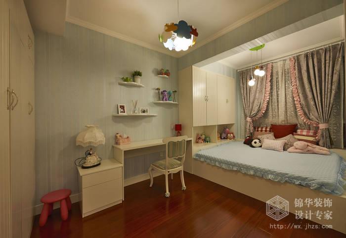 现代简约-西水东-四室两厅-194平-儿童房-装修效果实景图