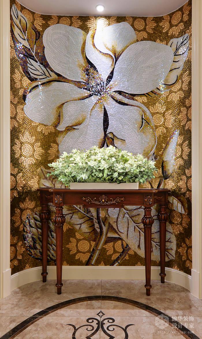 玉兰花园163平现代美式风格实景图装修-大户型-美式田园