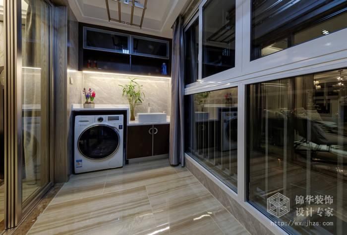 金科世界城120平现代东方风格三室两厅两卫实景图装修-三室两厅-新中式