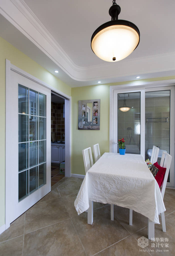 平现代简美风格实景图装修 两室两厅装修效果图 美式乡村 田园 风格