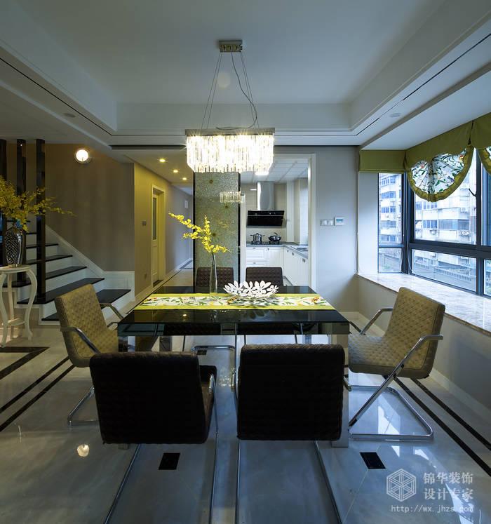 恒威中央领地140平现代简约风格实景图装修-三室两厅-现代简约