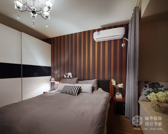 现代简约风格-繁华里-三室两厅-121平-儿童房-装修实景效果图