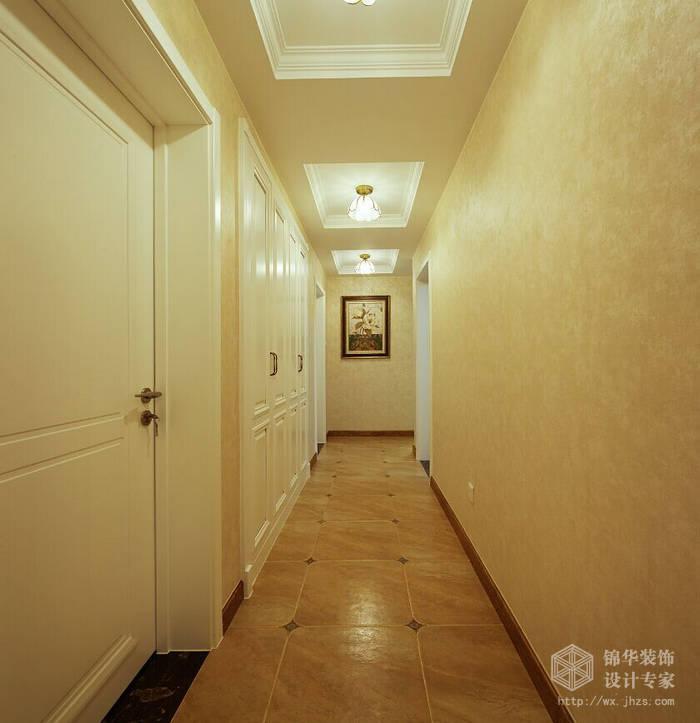 国信世家140平休闲美式风格四室两厅两卫实景图装修-大户型-美式田园