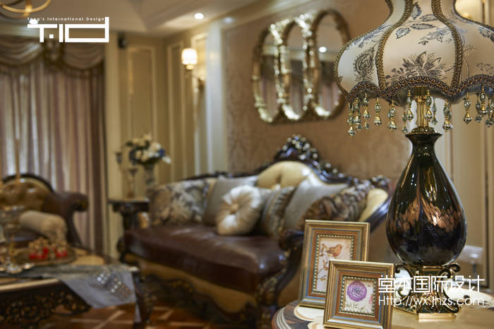 京梁合200平新装饰主义风格实景图装修-大户型-欧式古典