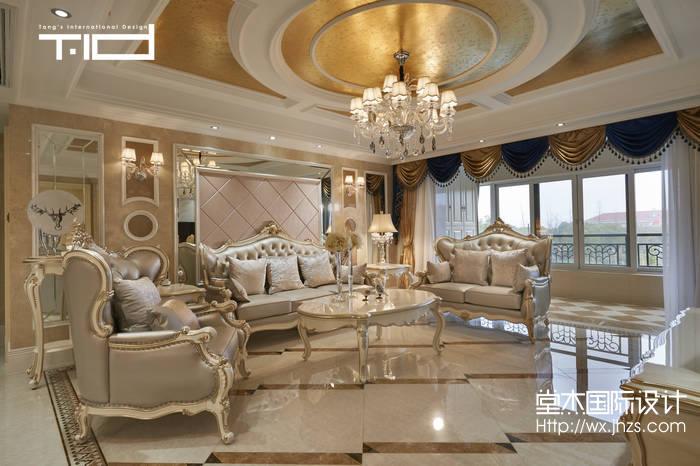 太湖锦园200平Artdeco风格实景图装修-大户型-新古典