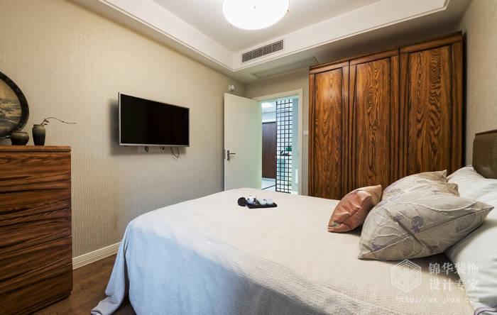 繁华里108平新现代主义中式风格实景图装修-两室两厅-新中式