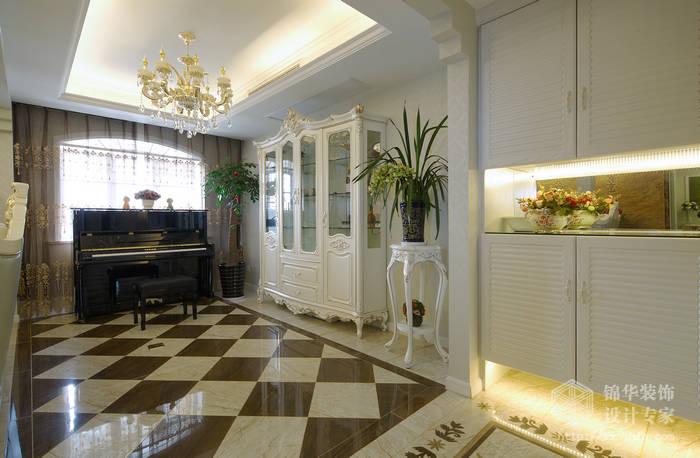 海尚映象160平欧式风格实景图装修-大户型-欧式古典
