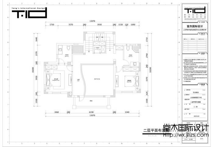 太湖锦绣园450平双拼简欧风格效果图装修-别墅-简欧
