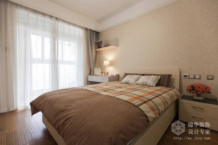 金太湖120平三室两厅现代简约风格实景样板间装修-三室两厅-现代简约