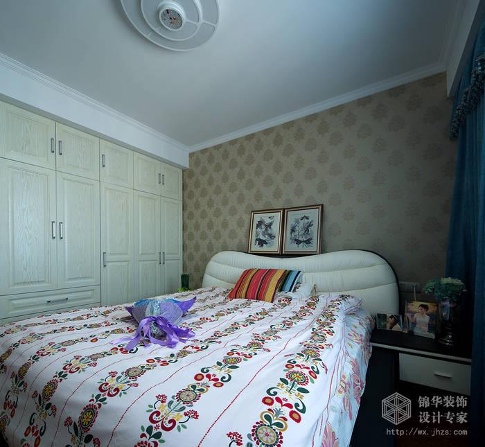 长江国际朗庭89平客厅挑高现代简约风格实景图装修-挑高-现代简约