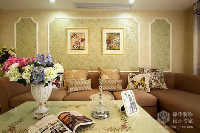 太湖国际悦湖150平四室两厅一厨两卫田园混搭风格实景图装修-大户型-混搭