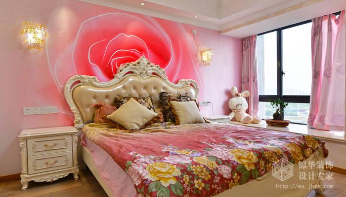 榭丽花苑130平三室两厅两卫简欧风格实景图装修-三室两厅-简欧