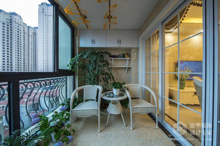 碧桂园120平三室两厅一卫简欧风格实景图装修-三室两厅-简欧