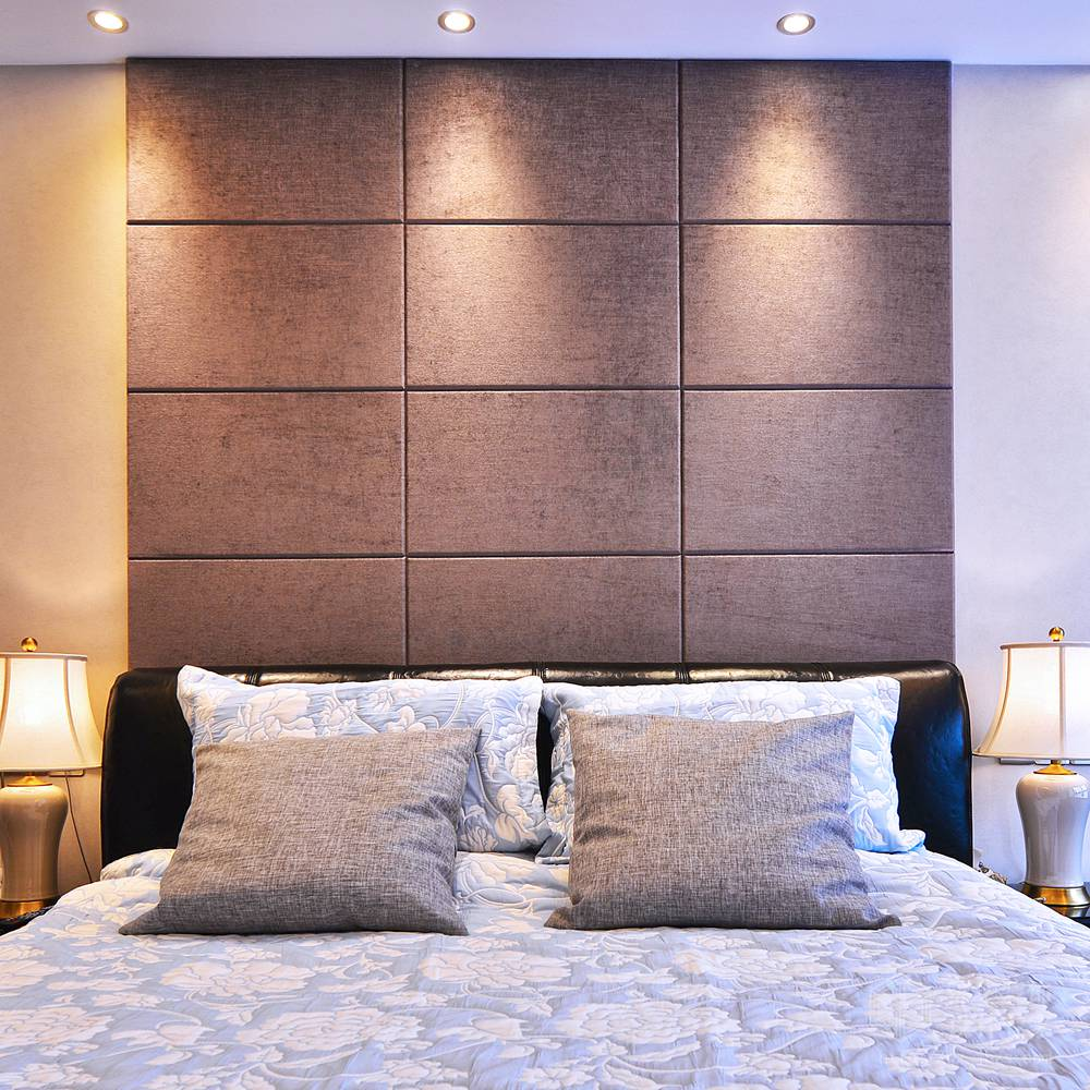 现代简约风格-中建溪岸观邸-复式-180平-卧室-装修实景效果图