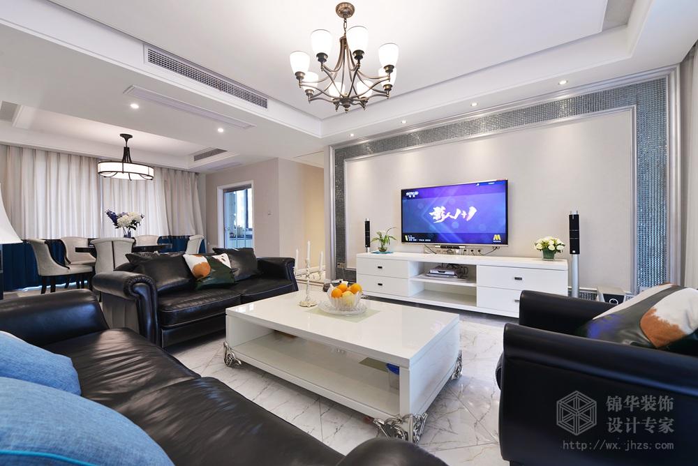 观邸180平米现代简约风格实景样板间装修 跃层 复式装修效果图 现代