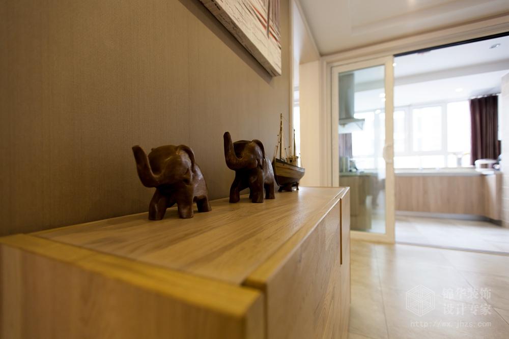金都花园155平三室二厅二卫 北欧风格实景样板间装修-三室两厅-简欧