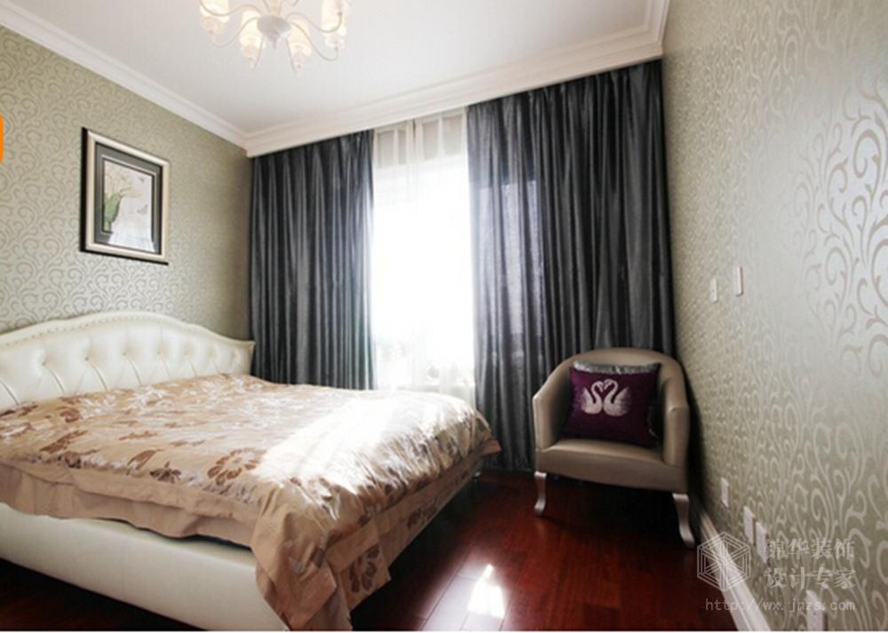 融创汣园143平三室两厅两卫现代简约风格效果图装修-三室两厅-现代简约
