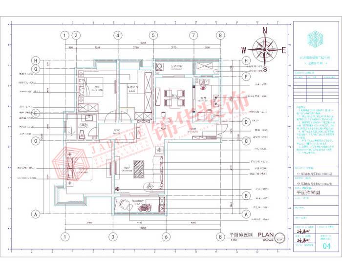 现代简约风格-中邦城市花园-三室两厅-129平米-装修实景效果图装修-三室两厅-现代简约