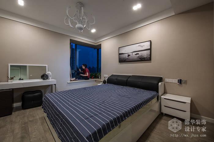 中邦城市花园129平三室两厅一卫现代简约风格实景图装修 三室两厅装