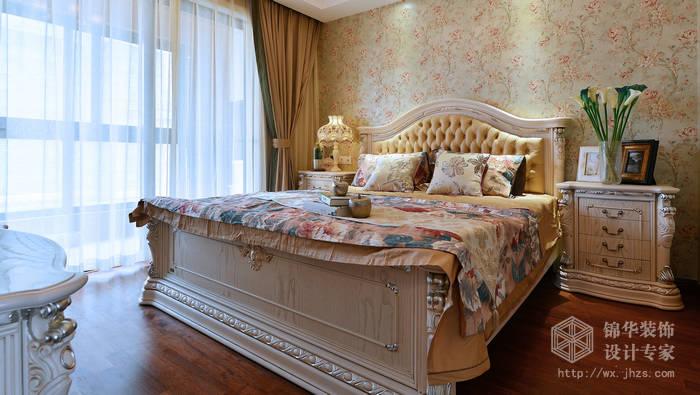 西水东熙第143平美式风格实景样板间装修-大户型-美式田园