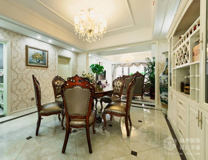 金科世界城150平三室二厅简欧风格实景样板间装修-三室两厅-简欧