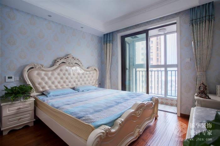 简欧风格-尚东雅园-四室两厅-185平-卧室-装修实景效果图