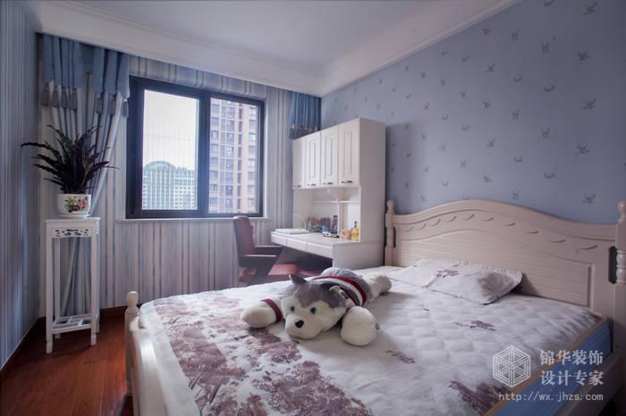 简欧风格-尚东雅园-四室两厅-185平-儿童房-装修实景效果图