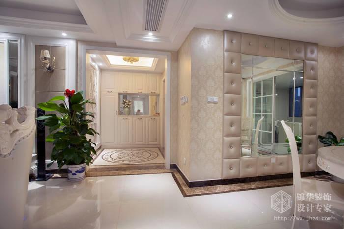简欧风格-尚东雅园-四室两厅-185平-过道-装修实景效果图
