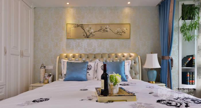 融创熙园143平三室两厅两卫现代欧式风格实景样板间装修-三室两厅-简欧