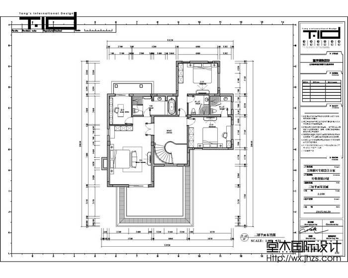 新中式风格-印象剑桥-别墅-500平-装修效果实景图装修-别墅-新中式