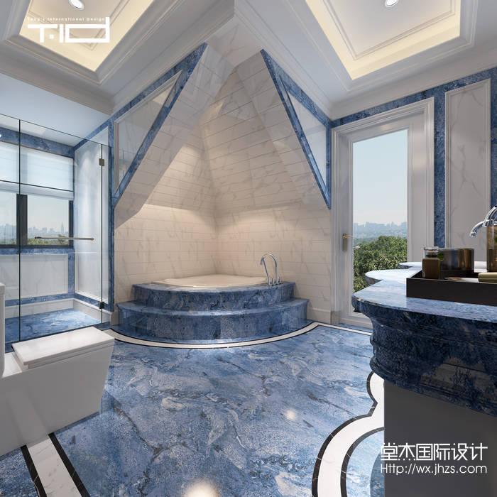 湖玺庄园650平托斯卡纳风格别墅效果图装修-别墅-欧式古典
