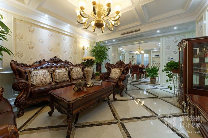 保利香槟170平四室两厅欧式风格实景样板间