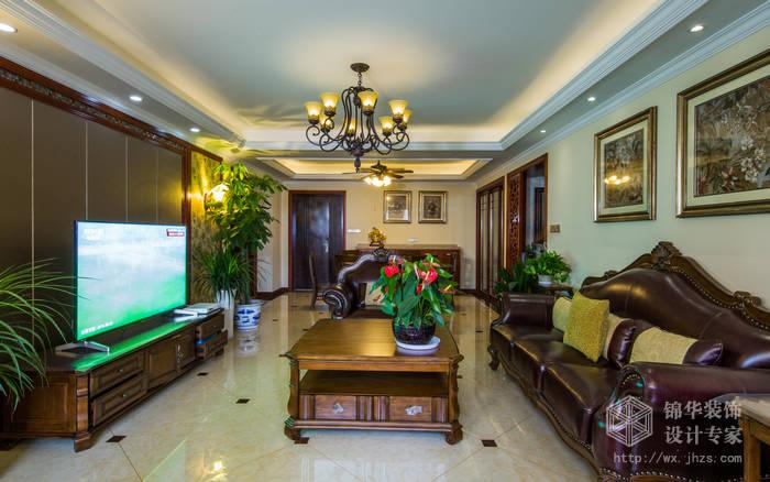 达安上品花园150平四室两厅两卫美式风格实景样板间