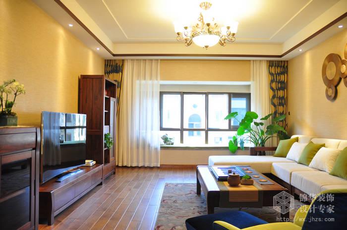 金色阳光200平四室两厅两卫混搭风格实景样板间
