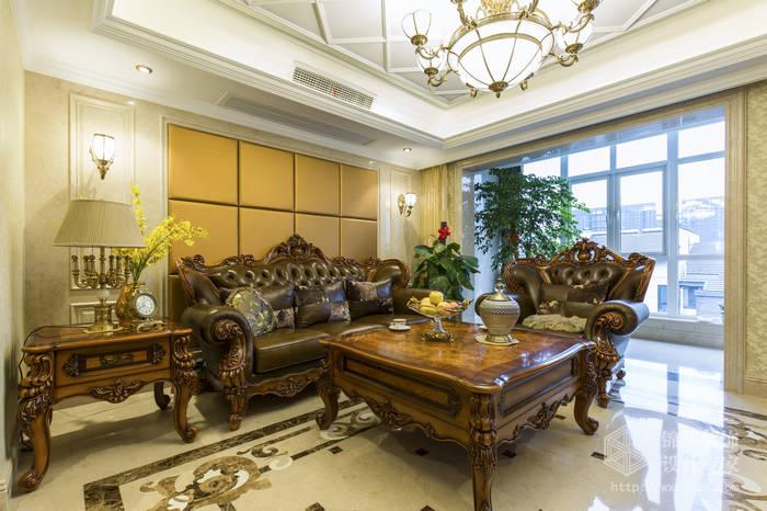 东方水榭200平新古典风格实景样板间