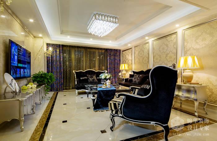 嘉州洋房140平三室两厅两卫新古典风格实景样板间