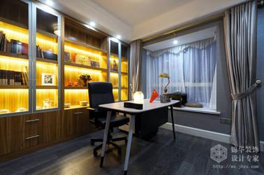 新古典风格-名都华庭-三室两厅-130平-装修实景效果图