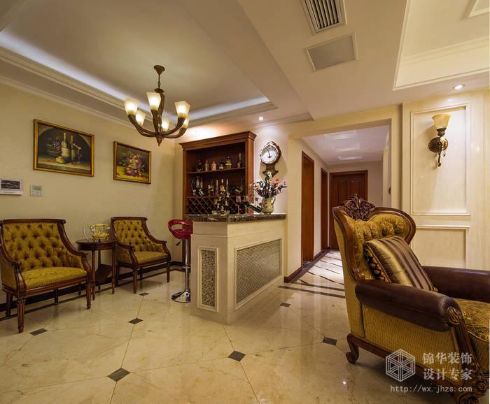 瑜憬湾141平四室两厅两卫欧式风格实景样板间装修-大