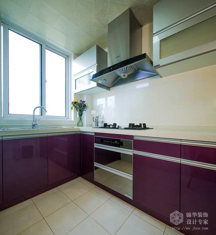 龙公寓129平三室两厅两卫现代简约风格实景样板间装修 三室两厅装