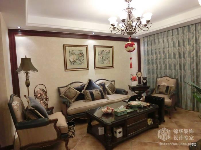 惠山雅苑146平美式风格实景图