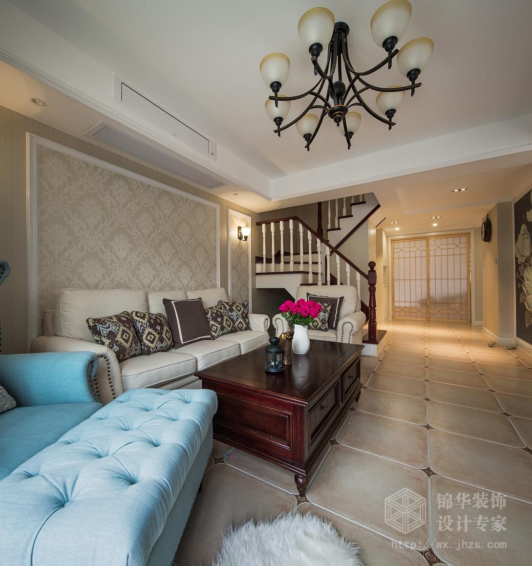 万科魅力210四室两厅两卫简美风格实景图
