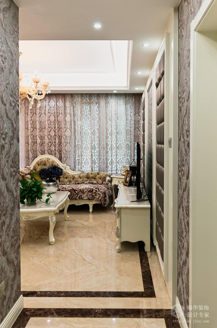 平四室两厅两卫简欧风格实景样板间装修-大户型-简欧
