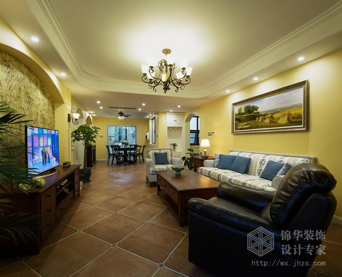 中富美林湖150平四室两厅两卫小美风格实景图