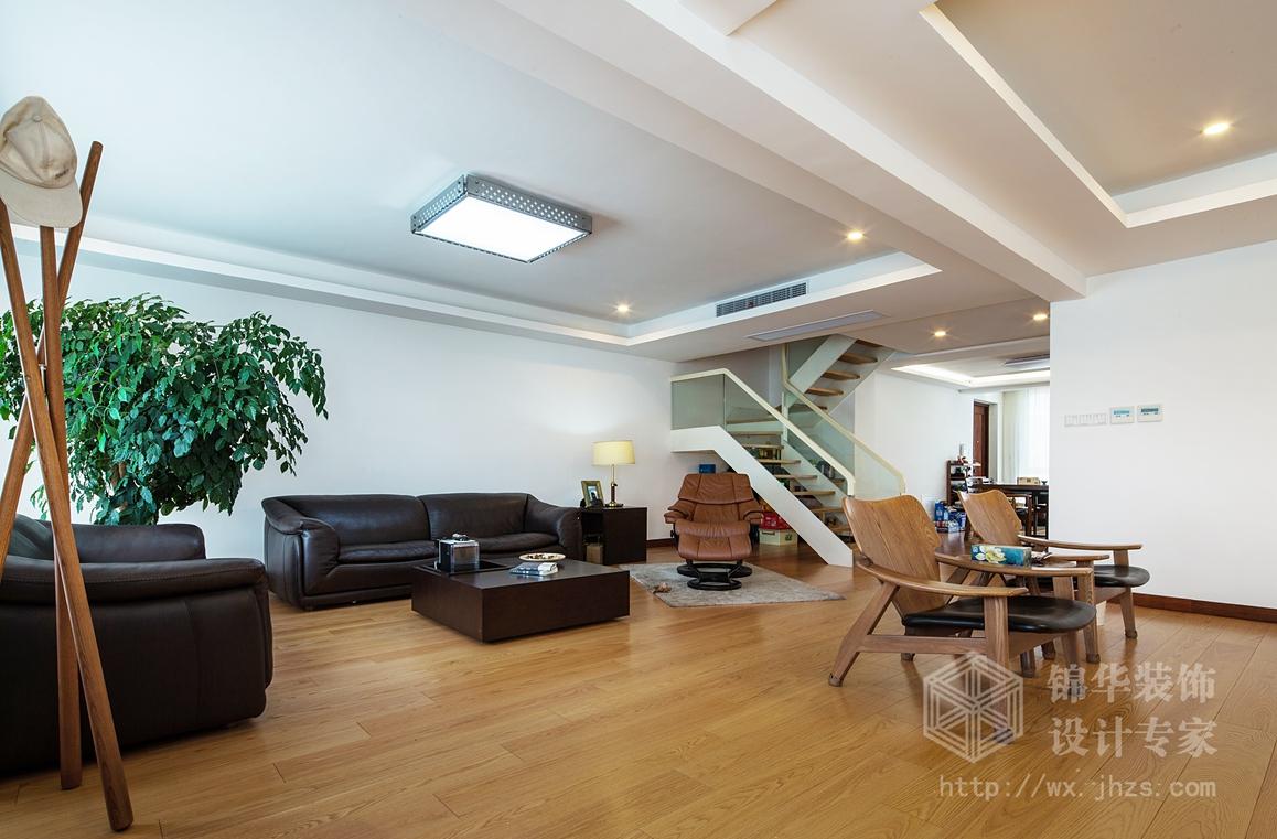 极简主义风格-集景花园-五室三厅-320平-装修实景效果图