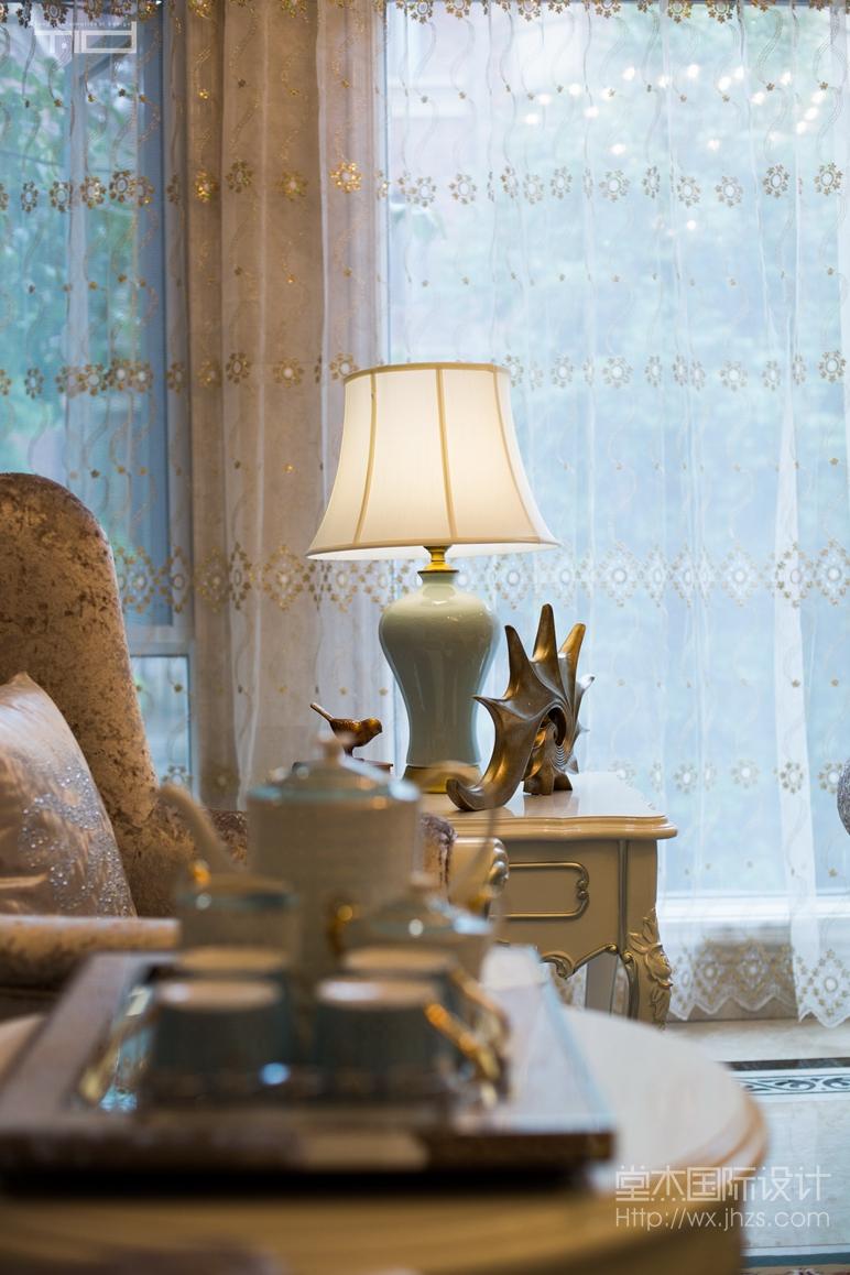 奥林匹克花园303平欧式风格别墅实景图装修-别墅-欧式古典