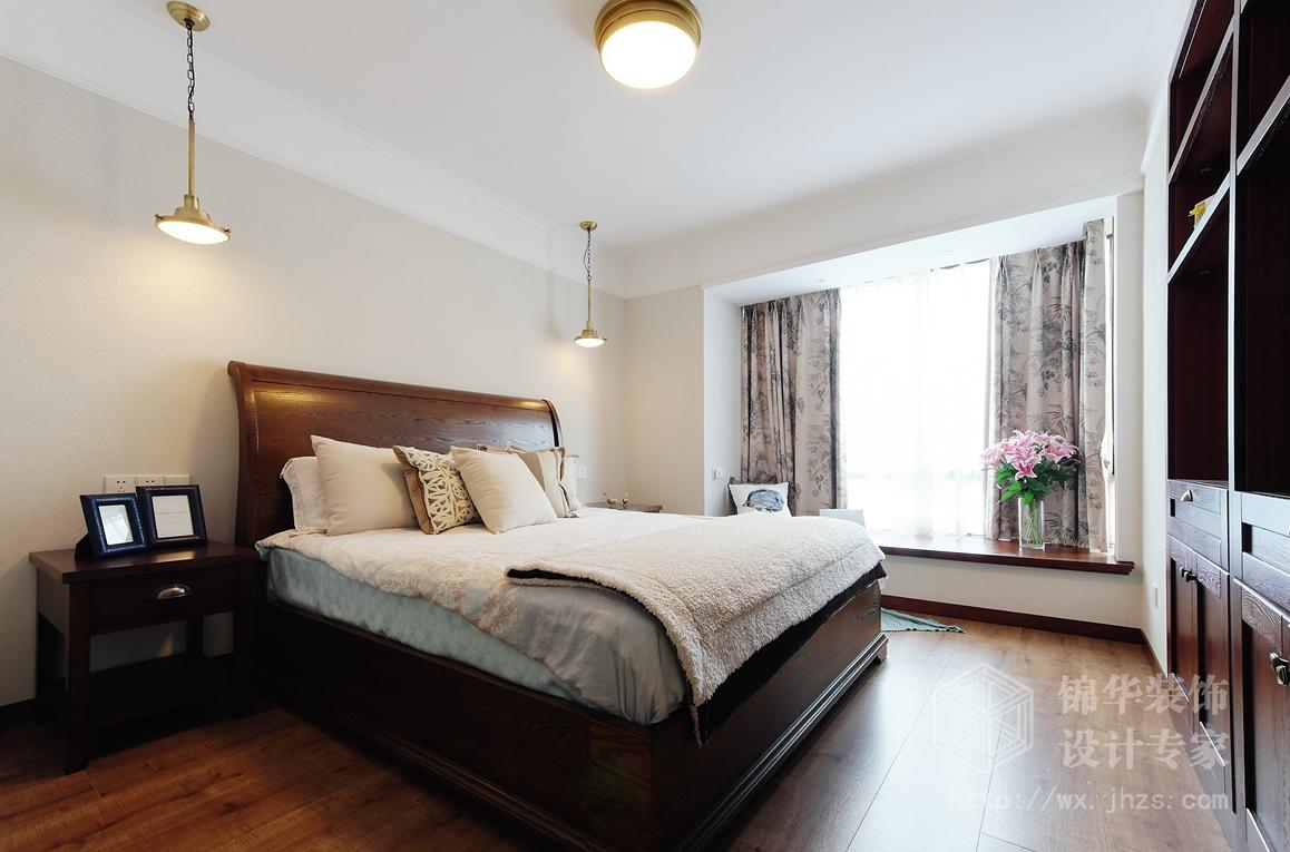 美式田园-太湖国际-四室两厅-135平-装修效果实景图装修-大户型-美式田园